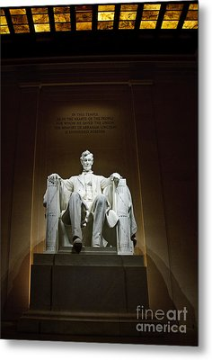 Lincoln Metal Print by Jim Chamberlain