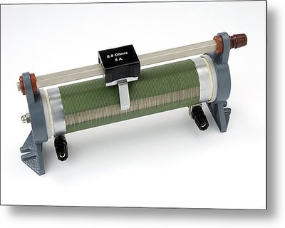 Linear Potentiometer Metal Print by Trevor Clifford Photography