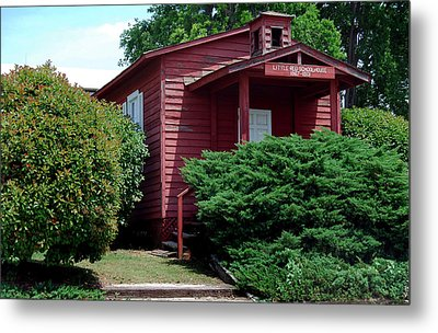 Little Red  Metal Print by Skip Willits