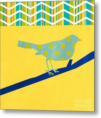 Little Song Bird Metal Print by Linda Woods