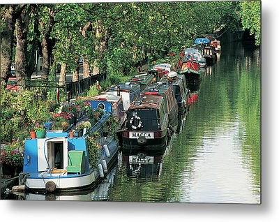 Little Venice, London, England Metal Print by Keith Mcgregor
