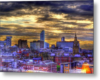 Liverpool Metal Print by Barry R Jones Jr