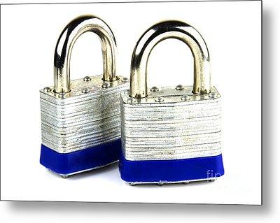 Locks Metal Print by Blink Images