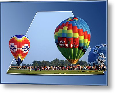 Logan County Bank Balloon 05 Metal Print by Thomas Woolworth