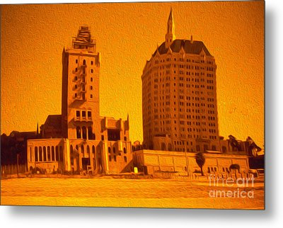Long Beach Metal Print by Gregory Dyer