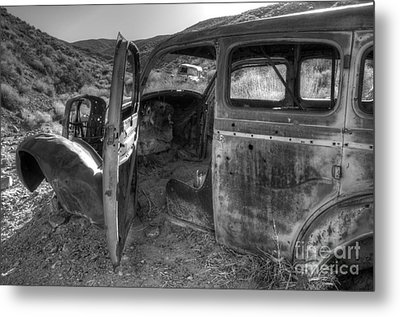 Long Forgotten Metal Print by Bob Christopher