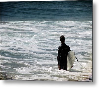 Looking For The Big One Metal Print by Laurie Search