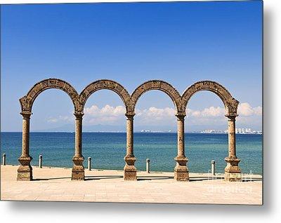 Los Arcos Amphitheater In Puerto Vallarta Metal Print by Elena Elisseeva