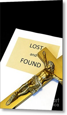 Lost And Found Metal Print by John Van Decker