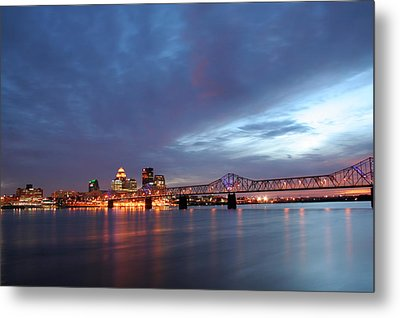 Louisville Kentucky Metal Print by Darren Fisher