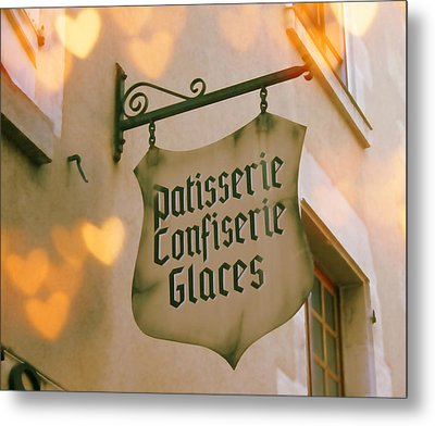 Love At The Patisserie Metal Print by Georgia Fowler