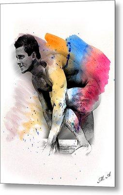 Love Colors - 2 Metal Print by Mark Ashkenazi