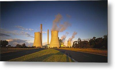Loy Yang Power Station, Coal Burning Metal Print by Jean-Marc La Roque