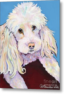 Lucy Metal Print by Pat Saunders-White