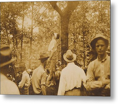 Lynching Of Leo Frank 1884-1915 Metal Print by Everett