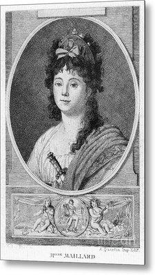 Mademoiselle Maillard Metal Print by Granger