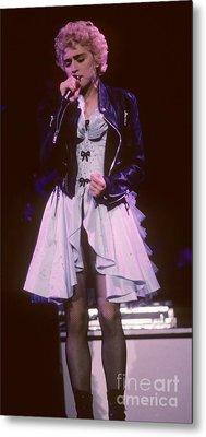 Madonna 1987 B Metal Print by David Plastik