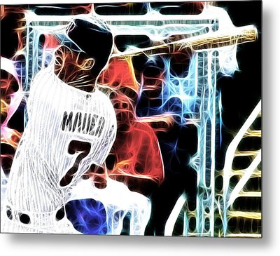 Magical Joe Mauer Metal Print by Paul Van Scott