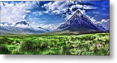 Majestic Highlands Metal Print by Wendy White
