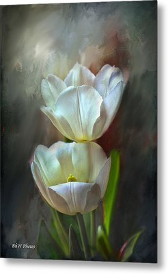 Majestic Tulips Metal Print by Bonnie Willis