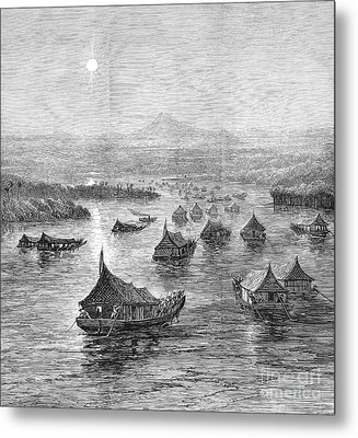 Malaya: Perak River, 1876 Metal Print by Granger