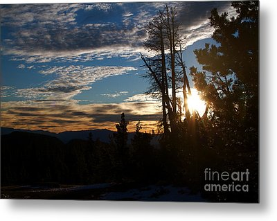 Mammoth Mountain California At Sunrise Metal Print by ELITE IMAGE photography By Chad McDermott