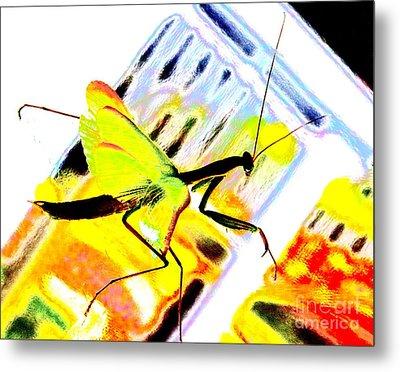 Mantis Metal Print by Xn Tyler