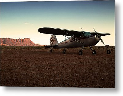 Marble Canyon Metal Print by Aurica Voss