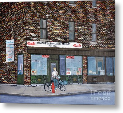 Marche Quenneville Pointe St. Charles Metal Print by Reb Frost