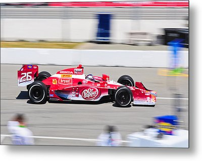 Marco Andretti At Toronto Indy Metal Print by Jarvis Chau