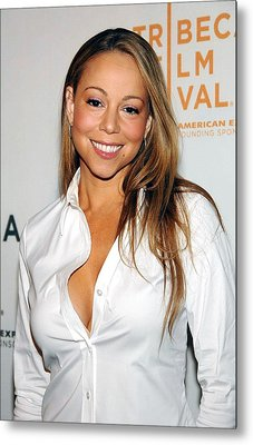 Mariah Carey At Arrivals For Tennessee Metal Print by Everett