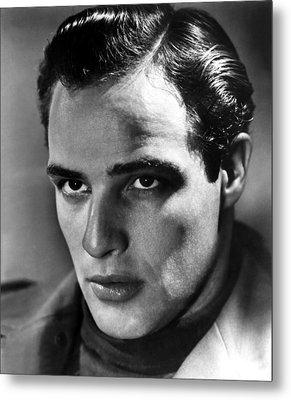 Marlon Brando, 1950s Metal Print by Everett