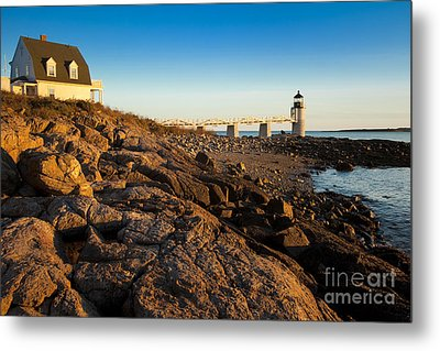 Marshall Point Lighthouse Metal Print by Brian Jannsen