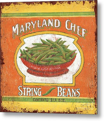 Maryland Chef Beans Metal Print by Debbie DeWitt
