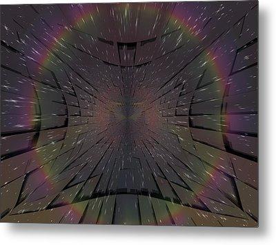 Matrix Metal Print by Tim Allen