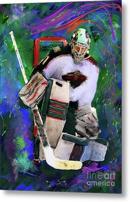 Matt Hackett Metal Print by Donald Pavlica