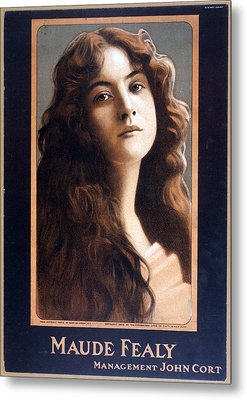Maude Fealy 1881-1971, American Metal Print by Everett