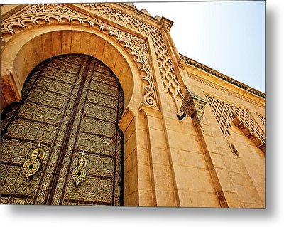 Mausoleum Of Mohammed V Metal Print by Kelly Cheng Travel Photography
