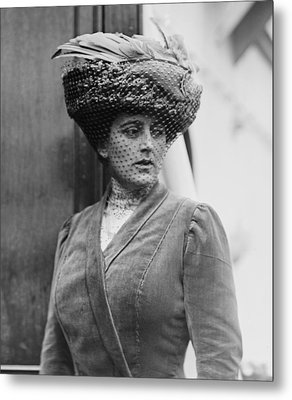 Maxine Elliott 1868-1940 Was One Metal Print by Everett