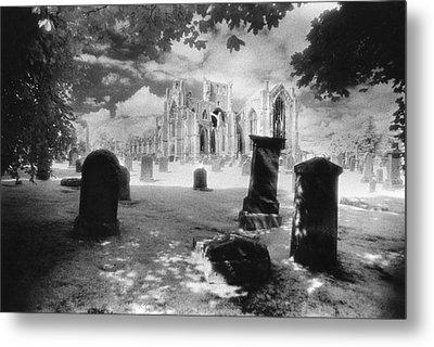 Melrose Abbey Metal Print by Simon Marsden