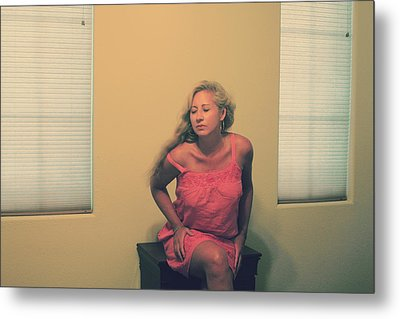 Memory Takes Over Metal Print by Laurie Search