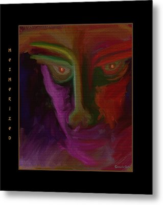 Mesmerized Metal Print by Mimulux patricia no