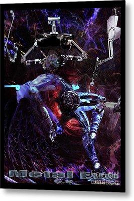 Metal Eve Metal Print by Rebecca Stephens
