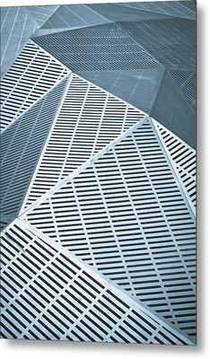 Metallic Frames Metal Print by Tom Gowanlock