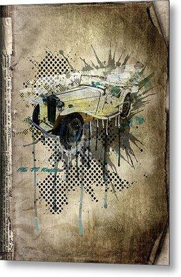 Mg Tc Roadster Metal Print by Svetlana Sewell