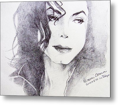 Michael Jackson - Nothing Compared To You Metal Print by Hitomi Osanai
