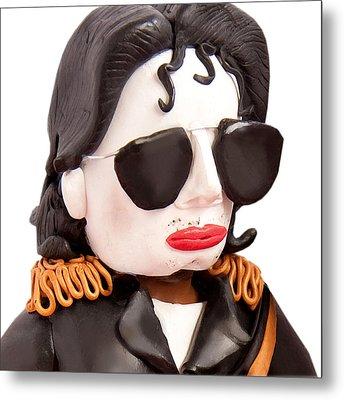 Michael Jackson Metal Print by Louisa Houchen
