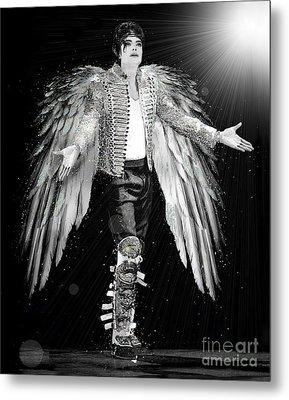 Michael King Of Angels Metal Print by Karine Percheron-Daniels