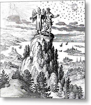 Microcosm, Macrocosm, 17th Century Metal Print by Science Source