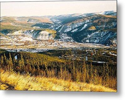 Midnight Dome - Dawson City Metal Print by Juergen Weiss